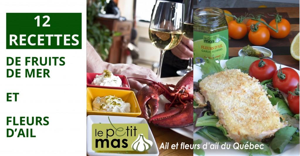 12 recettes de fruits de mer et fleurs d'ail