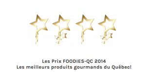 gagnant condiment prix foodies 2014