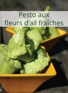 Pesto de fleurs d'ail