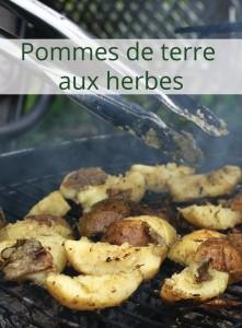 Recette   Pommes de terre aux herbes et aux fleurs d'ail