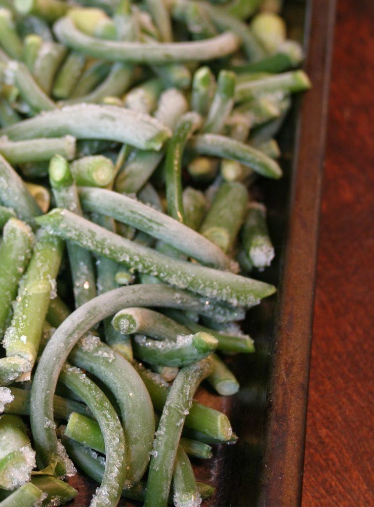 congeler les fleurs d'ail